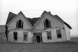 Abandoned House - Copyright Zimbel