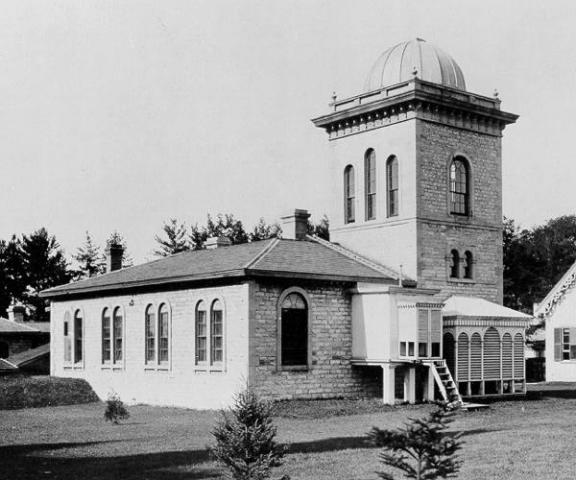 Toronto Magnetic Observatory circa 1890, source: Wikipedia