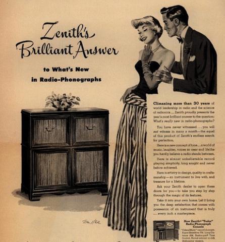 ZenithRadioAd1950