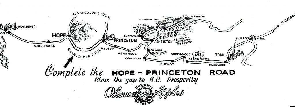Letterhead of the Penticton Board of Trade (1937)