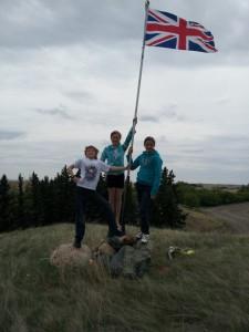 Vimy Ridge Flagpole, 2012.
