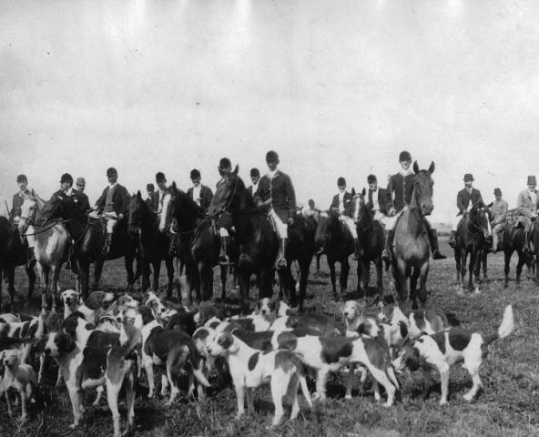 Photo Credit: Fox hunting, Montreal Hunt Club, Montreal, QC, about 1885, McCord Museum, VIEW-2580.1