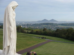 France, from Vimy Ridge. Merle Massie collection.