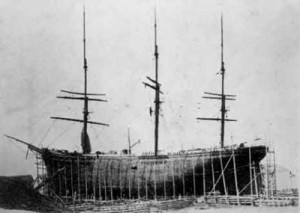 Photo of the W. D. Lawrence from the Maritime Museum of the Atlantic