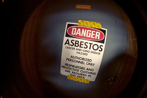 "Photo: ""Asbestos"" by Joey Gannon."