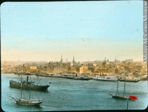 Saint John harbour about 1910, anonymous (McCord Museum)