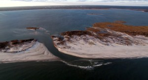 New Breach at Old Inlet, Fire Island, NY