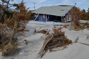Fire Island, N.Y., home destroyed by Hurricane Sandy