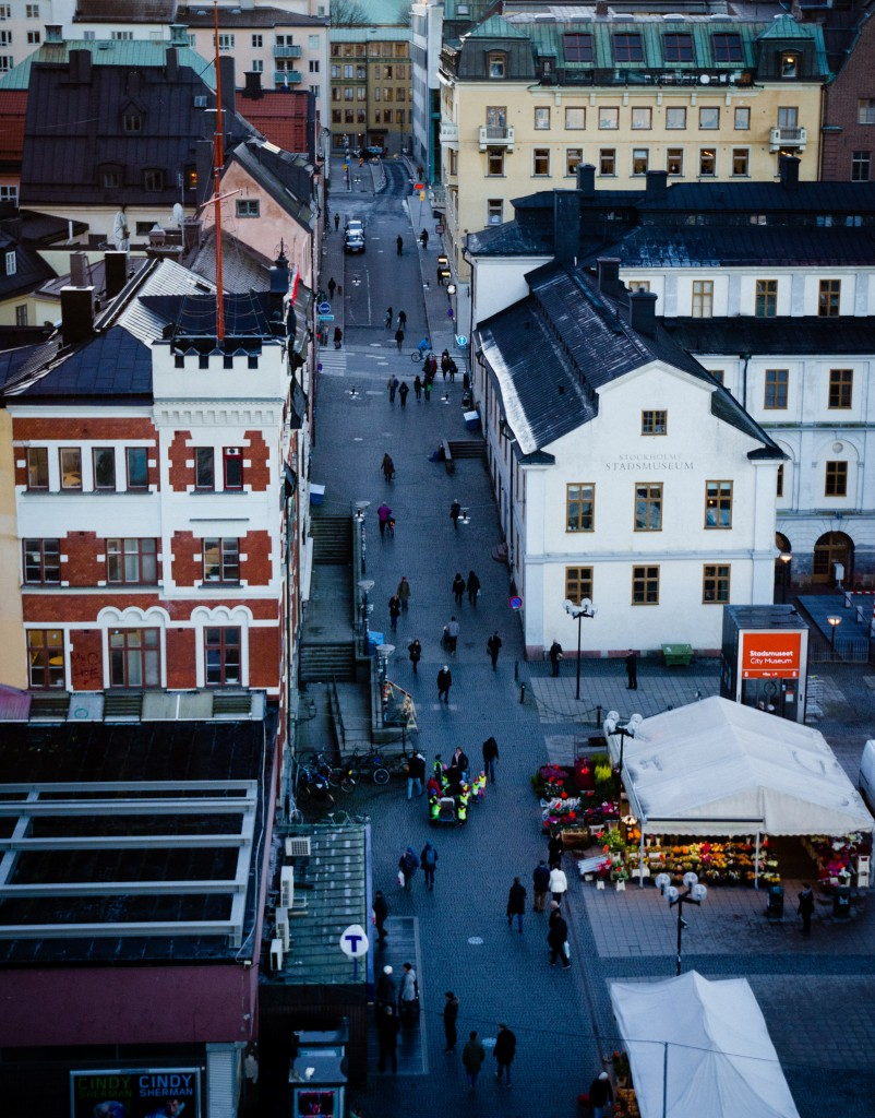 Stockholm, birds eye view. Photo: Jonathan Luedee