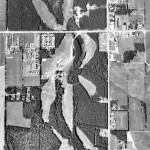 Aerial Photo of Green Gables, 1974