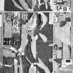 Aerial Photo of Green Gables, 1990