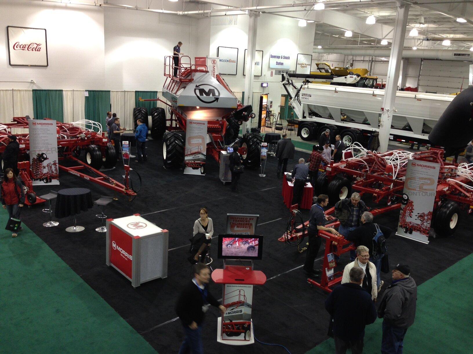 Morris Farm Equipment at CPS 2014. Photo: Morris Industries