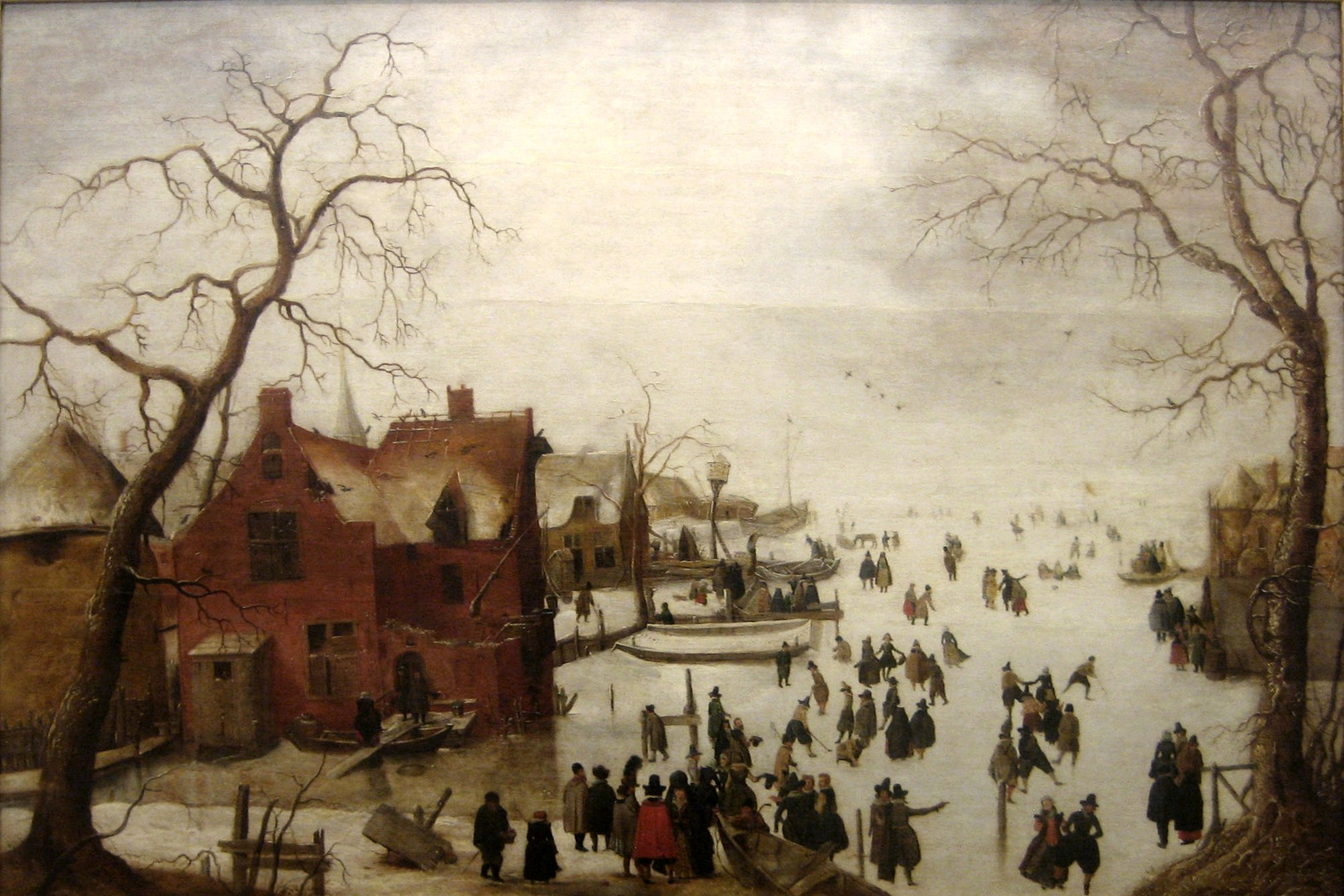 Hendrick Avercamp, Winter Scene, 1620