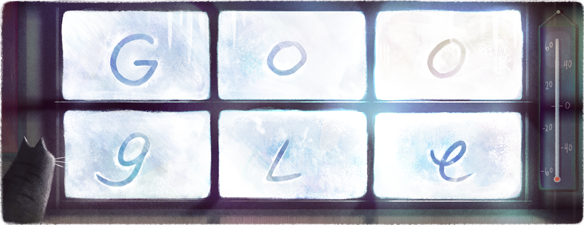 Google Doodle celebrates Canada's coldest day, -63 C