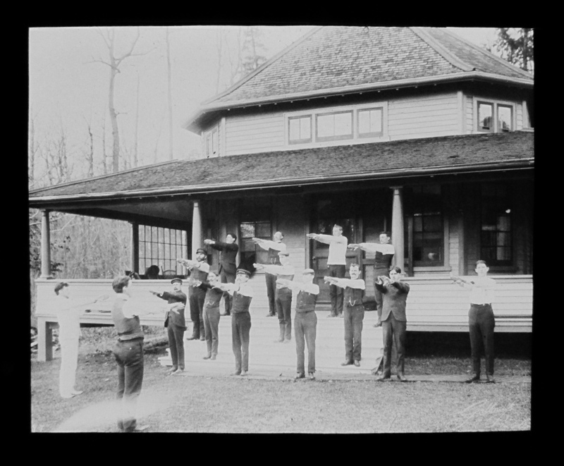 Breathing Exercises, Muskoka Cottage Sanatorium, Source: Archives of Ontario F 1369-1-0-1