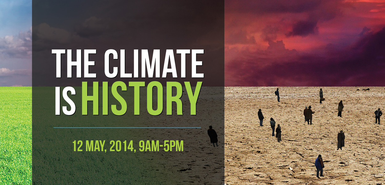 Climate is History banner_mast