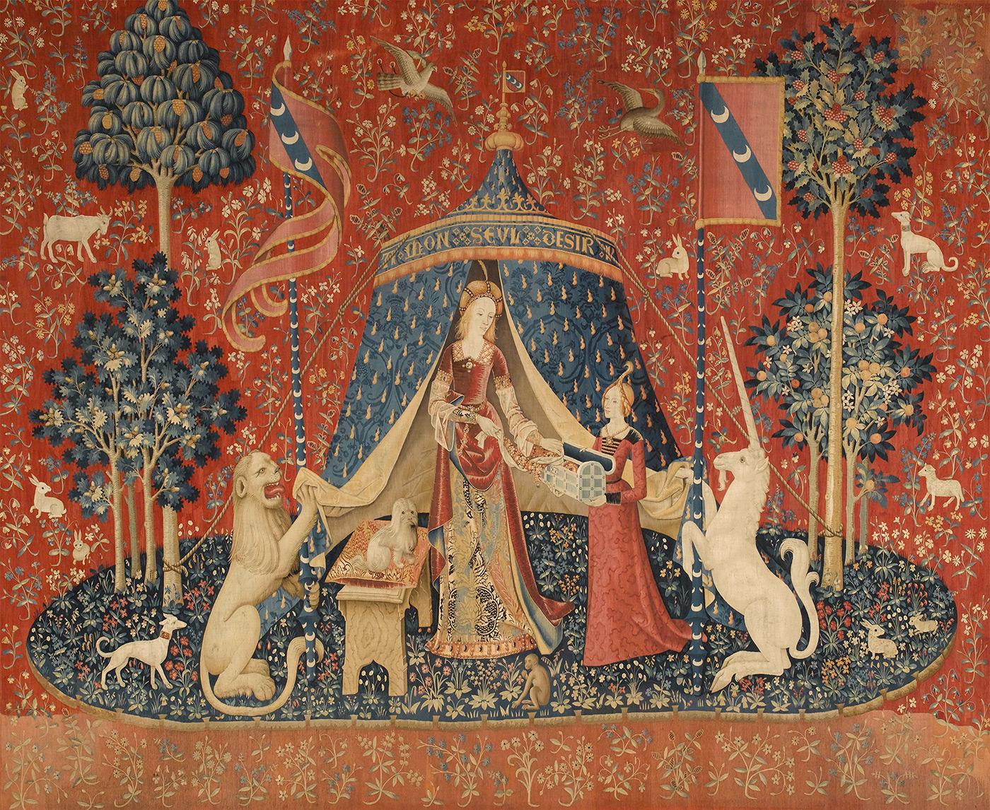 Dame à la licorne. À mon seul désir. © 2011, Rmn-Grand Palais – Tous droits de reproduction réservé