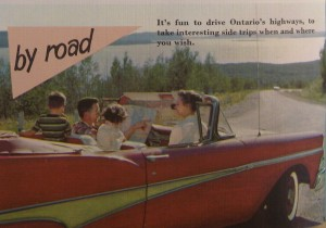 Image tirée du guide A Royal Welcome Awaits You in Canada's Variety Vacationland (Toronto: Department of Tourism and Publicity, 1959).