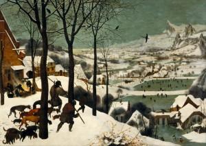 """Pieter Bruegel, the Elder, """"Hunters in the Snow,"""" 1565"""