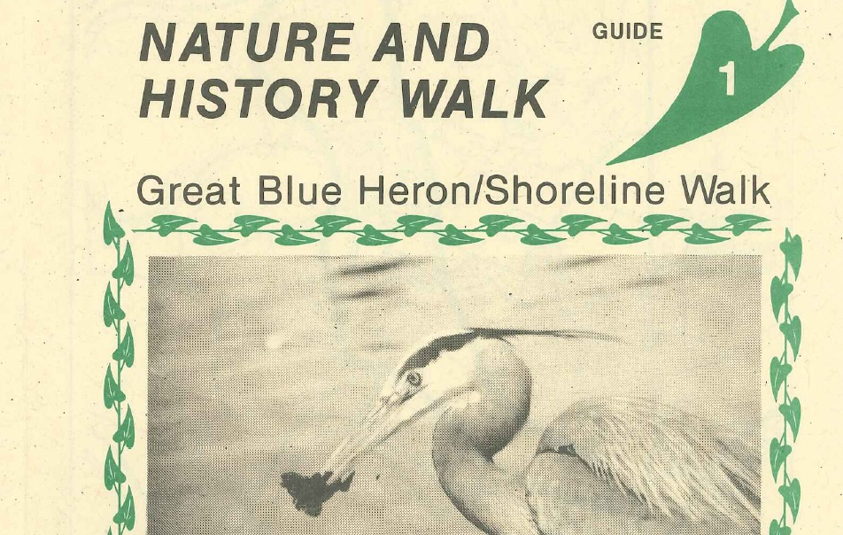 Cover of Stanley Park: Nature and History Walk guide 1.