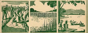 cover Ontario Conservation book, 1950
