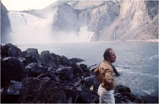 Trudeau on Nahanni River, 1970