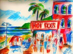 "Image Credit: Richard Huffstutter, ""Hot Dogs on City Beach, Laguna, CA,"" 2009, available at http://www.flickr.com/photos/huffstutterrobertl/7692130486/in/photostream/"