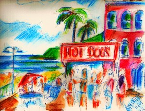 "Image Credit: Richard Huffstutter, ""Hot Dogs on City Beach, Laguna, CA,"" 2009, available at http://www.flickr.com/photos/huffstutterrobertl/7692130486/in/photostream/"