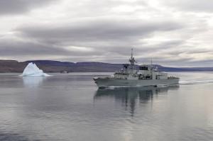 HMCS Montreal near Nanisivik, DND