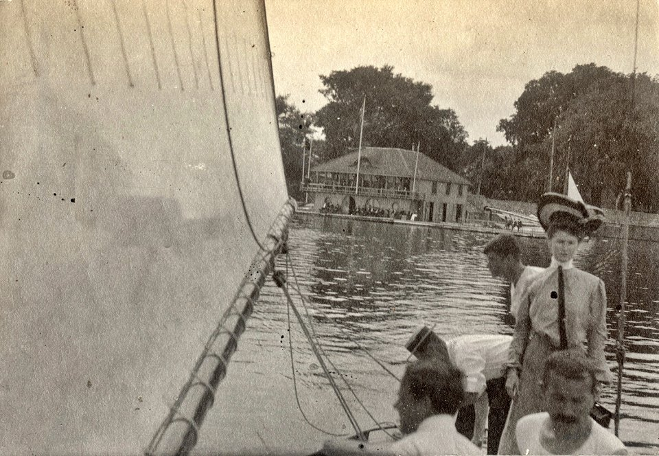 Kingston Yacht Club, 1905. Source:  Bill Stevenson