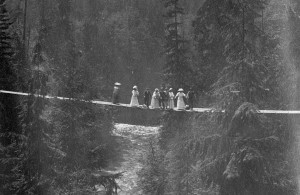 Source: Major James Skitt Matthews, Capilano Canyon Vancouver BC, ca. 1905. Item CVA 371-211, City of Vancouver Archives.