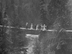 Source: Major James Skitt Matthews, Capilano Canyon Vancouver BC, ca. 1905. Item CVA 371-211, City of Vancouver Archives.