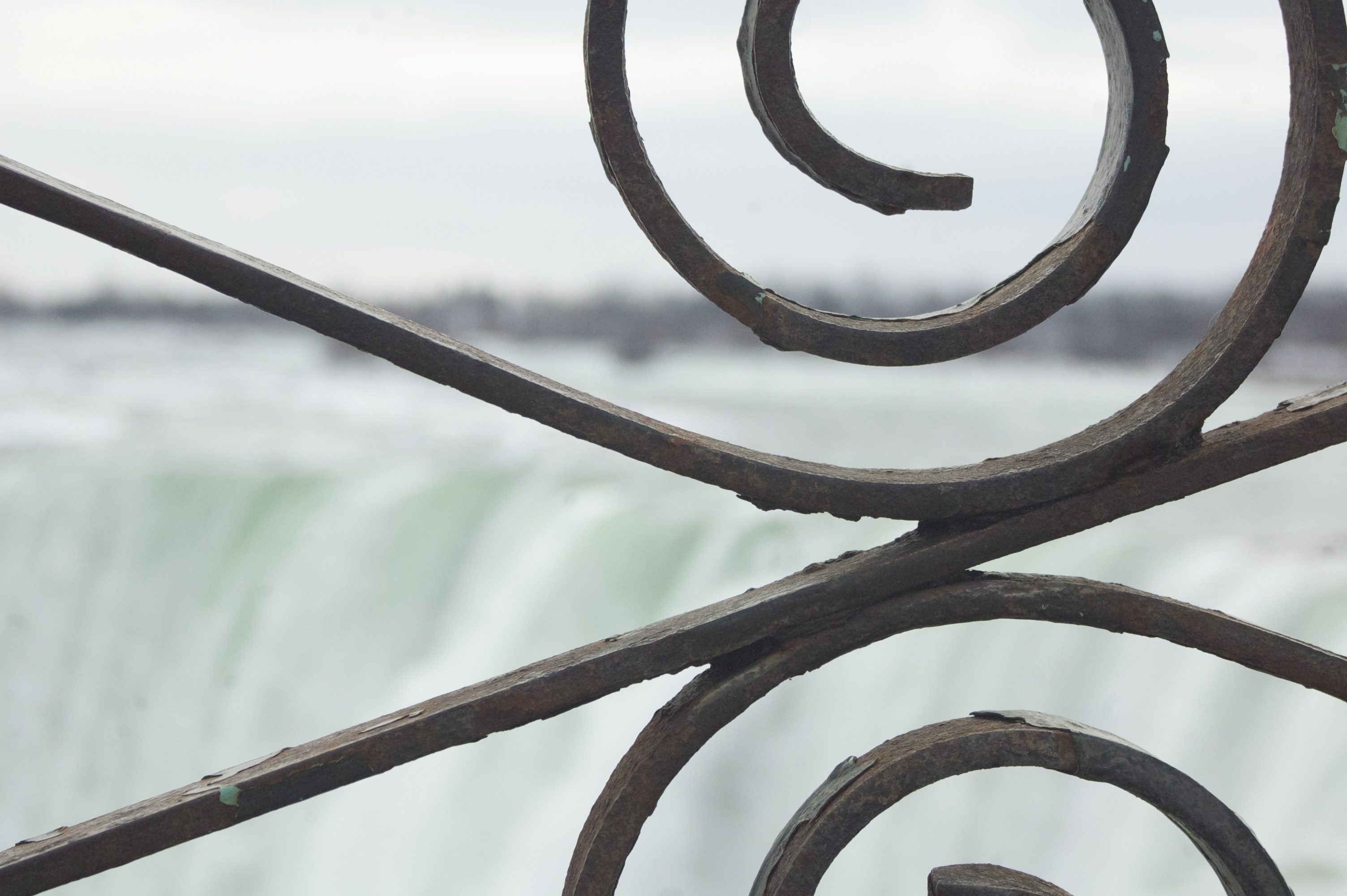 Horseshoe Falls in February 2013. Daniel Macfarlane