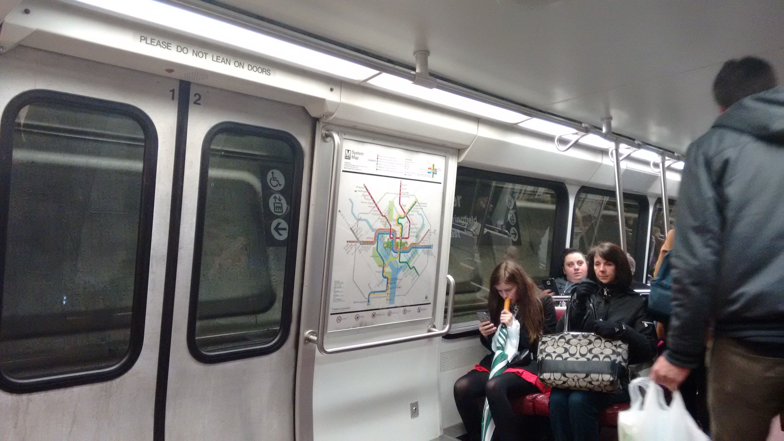 Washington Metro. Source: S. Kheraj