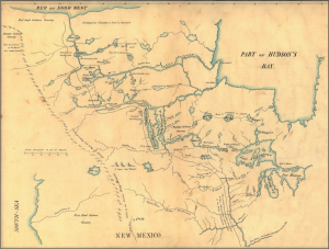 Peter Pond, Hudson's Bay country (1784-85)