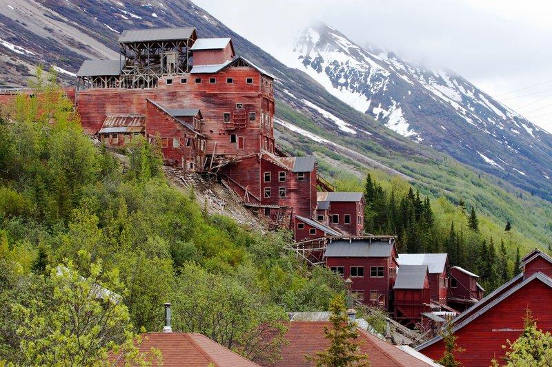 Kennecott Mining Town, Wrangell-St. Elias National Park, Alaska. Photo Source: (© Marc Moritsch/National Geographic Creative/Corbis)