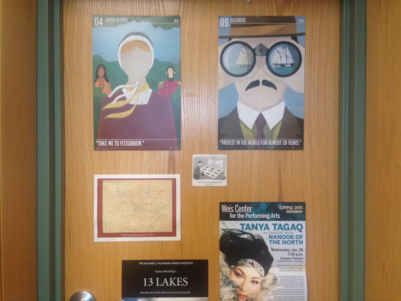 My office, 69 Coleman Hall, Bucknell University