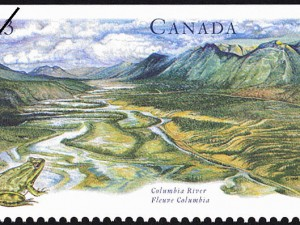 Columbia River Stamp. Source: Library and Archives Canada, R169-5