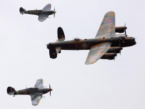 Battle of Britain Memorial Flight, 2010. Source: Wikimedia Commons.