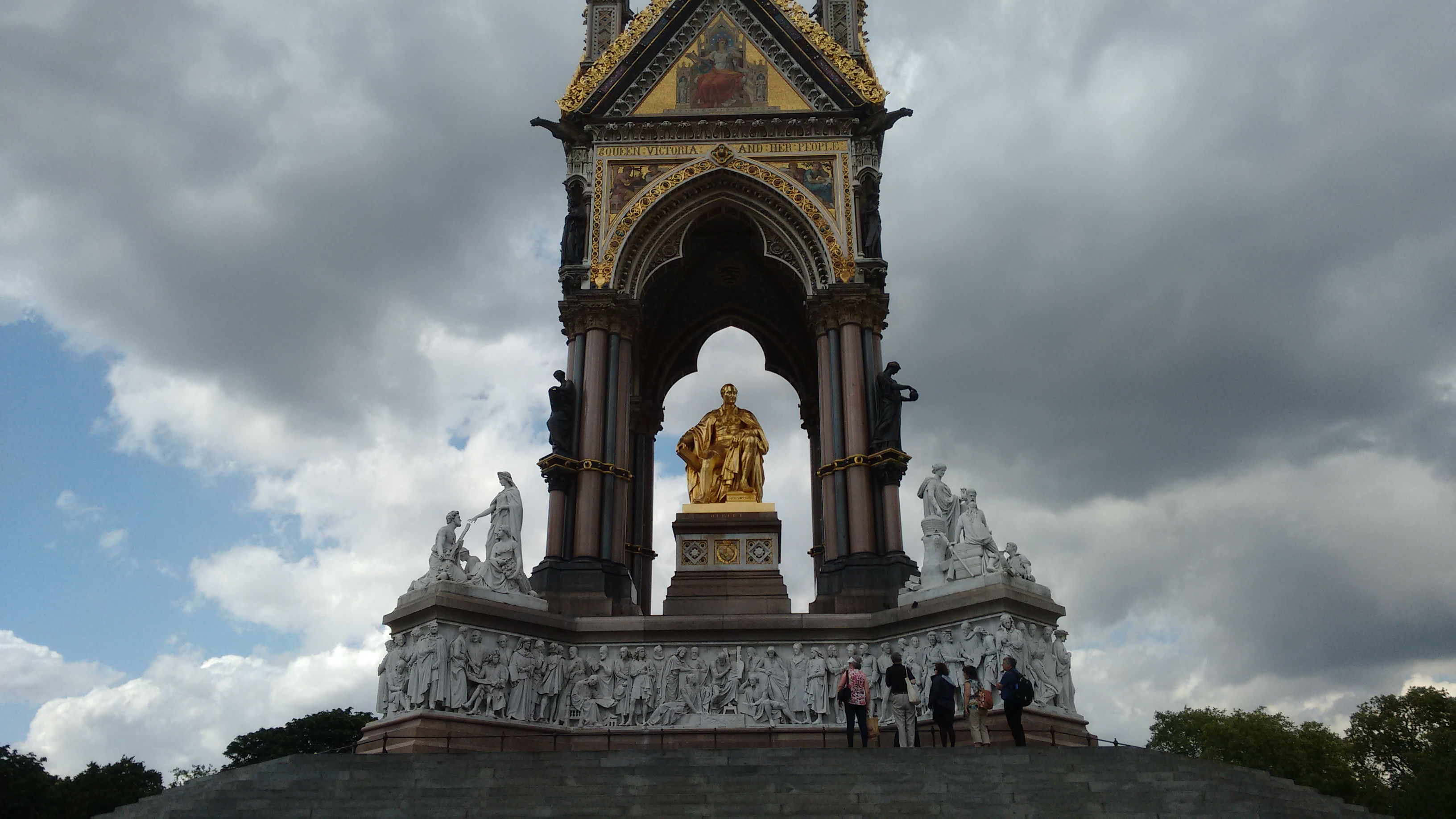 Prince Albert Memorial, Hyde Park, London. Source: S. Kheraj