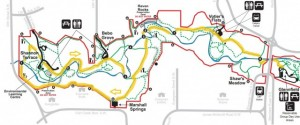 Fish Creek Park Western Trails. Source: bigdoer.com