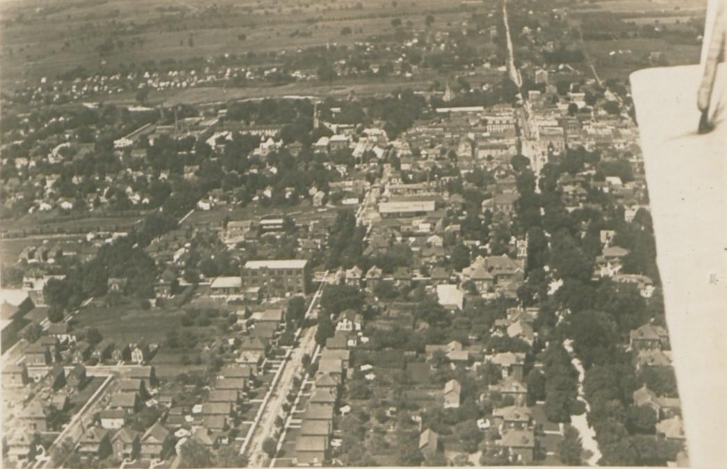 edited aerial shot