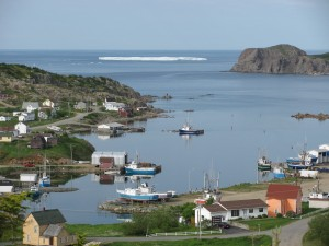 Durrell, a fishing and sealing community on Twillingate Island, Newfoundland, in 2009. Photo credit: John Gillett.