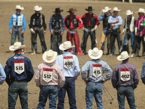 Calgary Stampede contestants, 4 July 2015