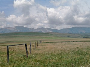 Ranching country, south of Longview, Alberta