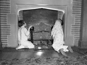 Waiting for Santa, 1954, Glenbow Museum (Calgary)