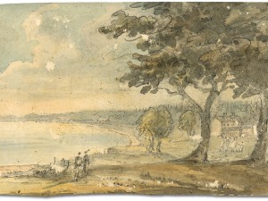 Head of the Lake, Lake Ontario by Elizabeth Simcoe, 1796. Source: Wikimedia Commons