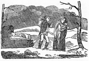 This image has become associated with the Year Without a Summer, ...but it is not at all clear it dates from, or is about, 1816.