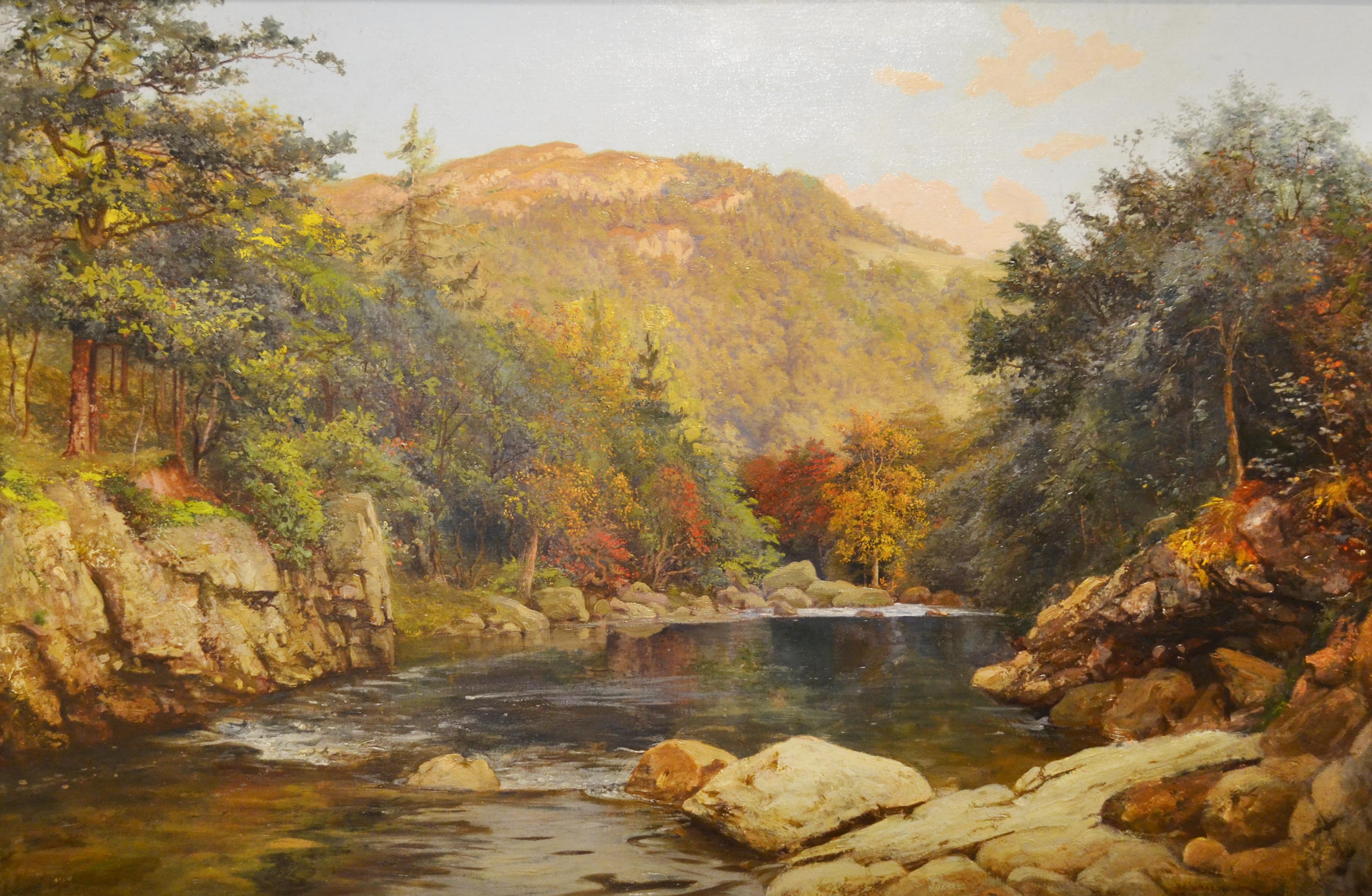 "Otto Reinhold Jacobi, ""Canadian Fall"" (1870). Source: Wikimedia Commons"