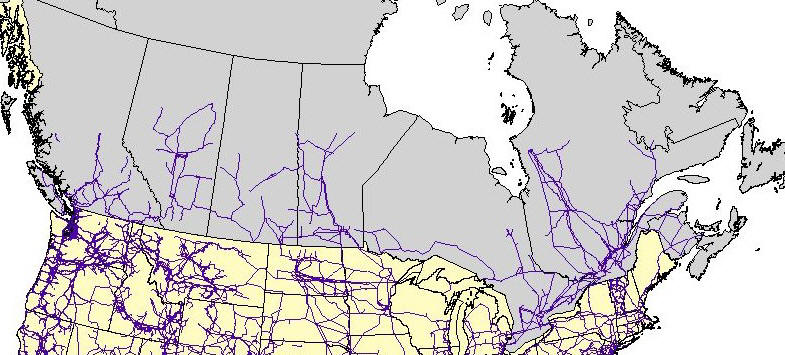 Current Canada-US Energy Grid